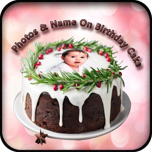 اسم الصورة على كعكة عيد ميلاد التطبيقات على Google Play