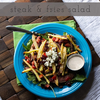 Steak & Fries Salad