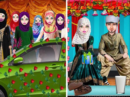 Muslim Hijab Wedding Girl Arranged Marriage Game 1.0.2 screenshots 8