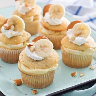 Banana Pudding Filled Cupcakes.