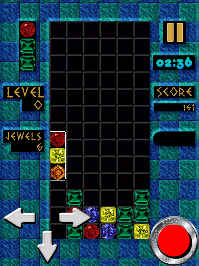 Jewels Columns (match 3)- screenshot