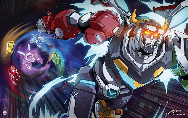Voltron HD Wallpapers New Tab Theme