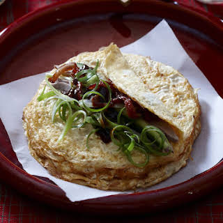 Peking Duck Omelettes.