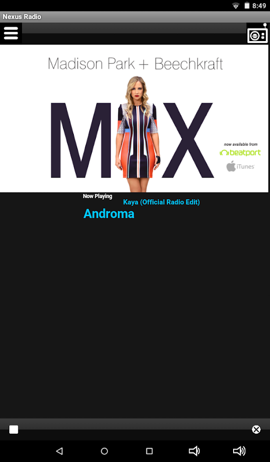 Nexus Radio- screenshot