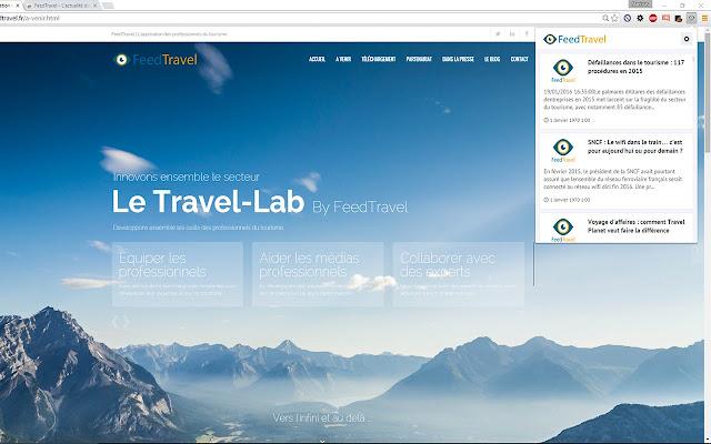 FeedTravel - Toute l'actualité du tourisme