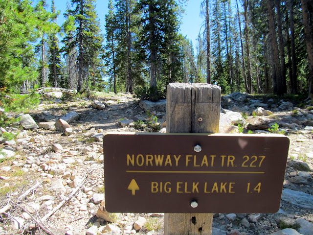Big Elk Lake trailhead