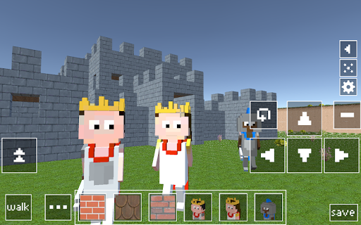 Castle Craft: Knight and Princess apkpoly screenshots 4