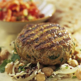 Lamb Patties with Chickpeas