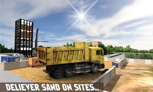 砂挖掘機模擬器 3D