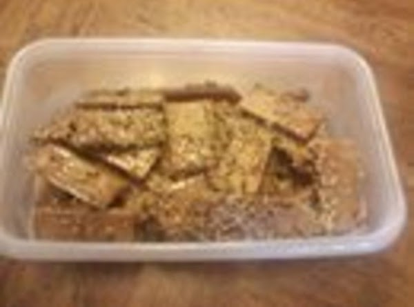 Pecan Crackers Recipe