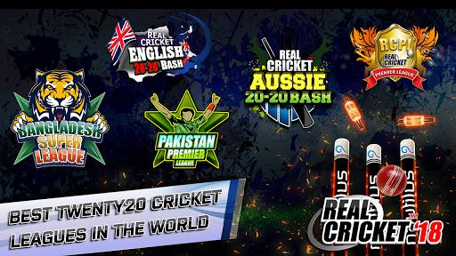 Real Cricketu2122 18 1.8 screenshots 1