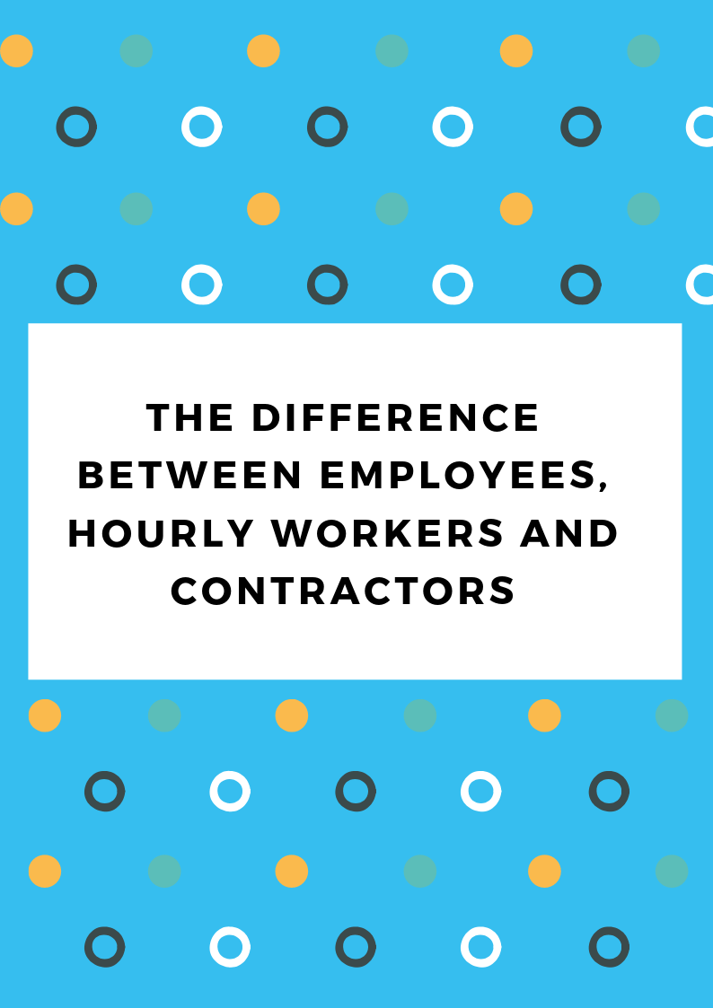 The difference between employees and contractors