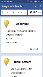 Anagram Solver Pro- screenshot thumbnail