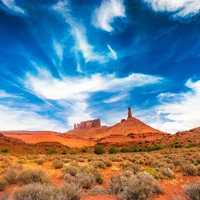 Castle Valley, Moab by Jocelyne Maucotel - Landscapes Mountains & Hills ( mountain, utah, voyage, castlevalley, landscape, rocks, usa )