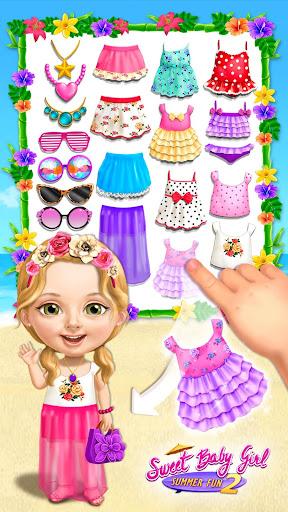 Sweet Baby Girl Summer Fun 2 - Holiday Beach Party screenshots 1