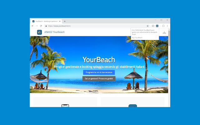 YourBeach Manager