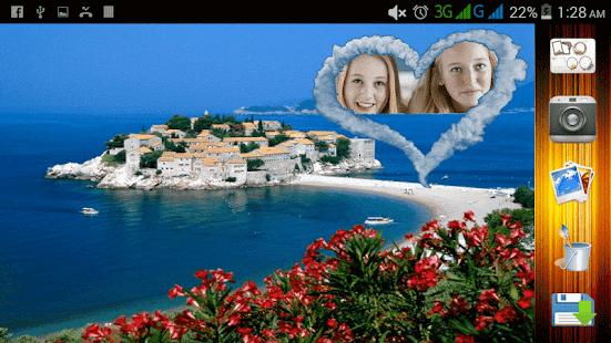 pláž selfie - náhled