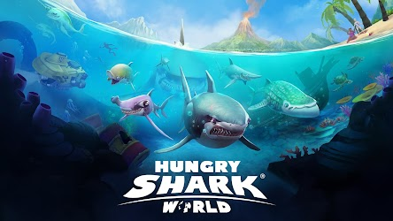Hungry Shark World 2.4.2 (Unlimited Money) MOD Apk + OBB 8