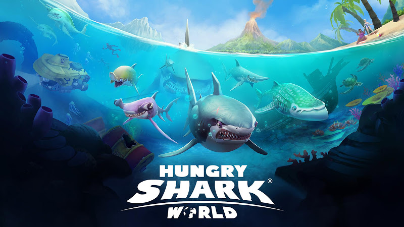Hungry Shark World v2.0.0 [Mod Money]