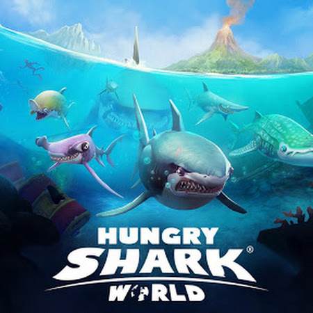 Hungry Shark World v2.1.0 [Mod Money]