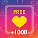 Instant Followers and Likes using QR & Hashtags icon