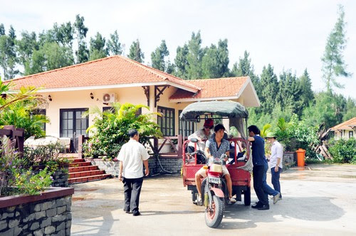 Đảo Ngọc Vừng phát triển dịch vụ du lịch