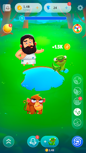 Human Evolution Clicker: Tap and Evolve Life Forms 1.8.14 screenshots 23