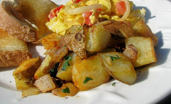 Pan-fried Potatoes With Paprika And Lemon Recipe