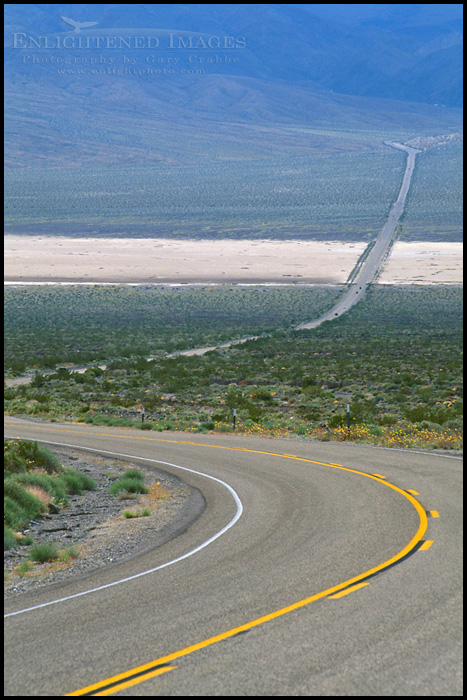 "Photo: Desert Highway in the Panamint Valley, California  Another image for the #PanoPoker theme ""Roads"" curated by +Barry Blanchard & +Mike Spinak"