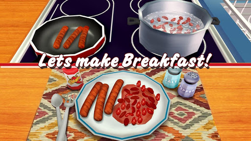 Virtual Chef Breakfast Maker 3D: Food Cooking Game 1.1 screenshots 1