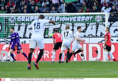 Bundesliga: Francfort chute face à Augsbourg
