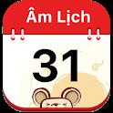 Vietnamese lunar calendar icon