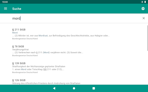 Lawdroid – Deutsche Gesetze und EU-Recht screenshot 20
