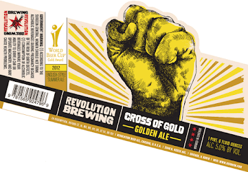 Revolution Cross of Gold Golden Ale