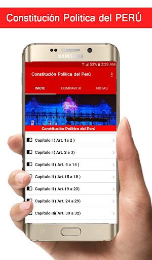 Constitucion Politica del Peru00fa 1.07 screenshots 1