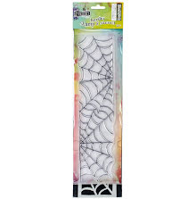 Dylusions Clear Stamp & Stencil Set 12 - Cobweb