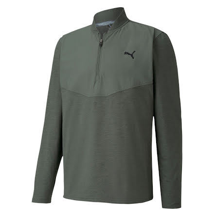Puma Golf CloudSpun 1/4 Zip Thyme