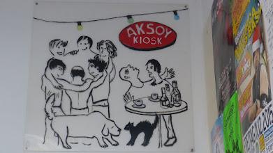 Photo: Aksoy Kiosk; Unknown Artist