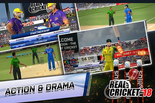 Real Cricketu2122 18 1.6 gameplay | by HackJr.Pw 14