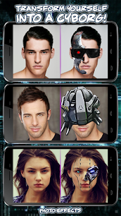 Cyborg Photo Editor – Become a Robot in Picture - náhled