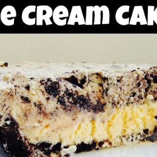 how to make oreo cookie ice cream cake