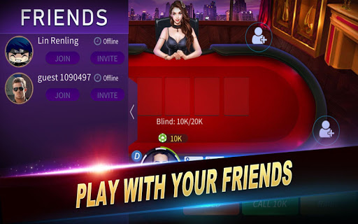 JYou Poker -  Texas Holdem android2mod screenshots 3