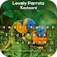 Lovely Parrots Keyboard Theme Download on Windows