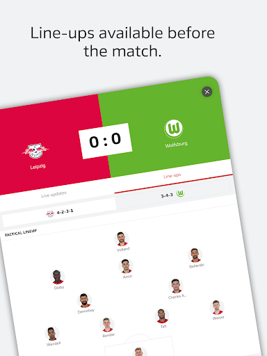 BUNDESLIGA - Official App 3.9.1 screenshots 23