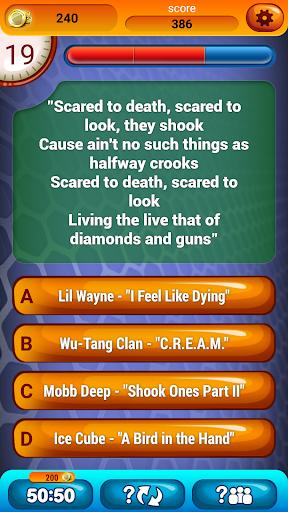 玩益智App|猜猜说唱歌词 自由 有趣 花絮 測驗免費|APP試玩