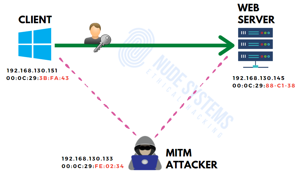 MITM ARP POISONING ATTACK WITH ETTERCAP - Part 2 » Nude Systems