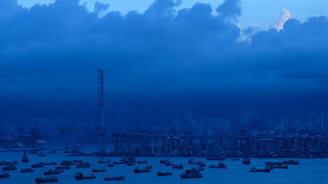 Hong Kong, Harbor, harbor, Morning, 香港, 海港, 早上