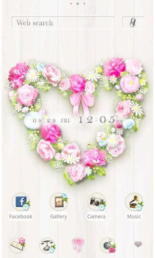Cute Theme-Heart Wreath-