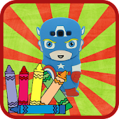 Book Coloring Kid Game