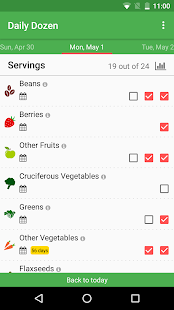 Dr. Greger's Daily Dozen- screenshot thumbnail